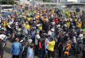 Governo de Doria multa Bolsonaro por andar sem máscara em
