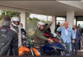Bolsonaro faz passeio de moto em homenagem ao Dia das Mães | Foto: Reprodução I Rede Social