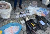 Polícia apreende 100 kg de cocaína em ação contra roubo a bancos em Tancredo Neves | Foto: Divulgação | SSP-BA