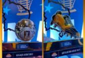 Copa do Nordeste mostra troféus de artilheiro e gol mais bonito da edição | Foto: Reprodução | Twitter