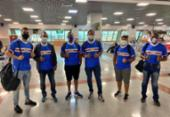 Nordestão: sócio do Bahia realiza sonho de viajar de avião pela primeira vez | Foto: Reprodução | Twitter