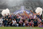 Com quatro títulos, Bahia se torna maior vencedor do Nordestão | Foto: Felipe Oliveira | EC Bahia
