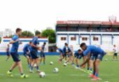 No CT do Fortaleza, Bahia fecha preparação para decisão da Copa do Nordeste | Foto: Felipe Oliveira | EC Bahia