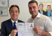Flávio se filia ao Patriota; partido deverá ser destino de Bolsonaro | Foto: Divulgação