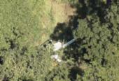 Helicóptero com 4 pessoas a bordo cai em Belo Horizonte | Foto: Reprodução I Globocop