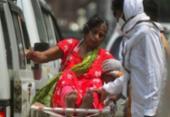 Índia registra pela primeira vez mais de 4 mil mortes por Covid-19 em 24 horas | Foto: AFP