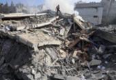 Ataque israelense em Gaza mata 10 pessoas, incluindo 8 crianças | Foto: Mahmud Hams | AFP