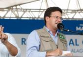 João Roma participa da entrega de 500 casas a famílias de baixa renda em Salvador nesta quinta | Foto: Alan Santos/PR