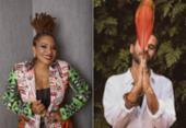 Com Margareth Menezes e Marcelo Jeneci, Mercado Iaô realiza edição especial online | Foto: Fernando Torquatto | Divulgação e Bispo | Divulgação