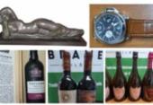 Obras de arte, vinhos e relógios de luxo apreendidos da Lava Jato vão a leilão | Foto: Reprodução | MJSP