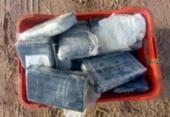 Mais uma mochila com cocaína foi encontrada em praia na Bahia; desta vez em Salvador | Foto: Divulgação