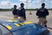 Quarteto suspeito de invadir e furtar residência é preso na BR-116 | Foto: Divulgação | PRF
