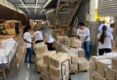 No Dia da Abolição, Frente Nacional Antirracista faz doações de cestas básicas | Foto: Divulgação