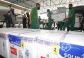 Bahia recebe 244 mil doses de vacina da AstraZeneca | Foto: Divulgação: Sesab