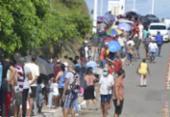 Vacinação de 2ª dose em Salvador tem mais um dia de longas filas | Foto:
