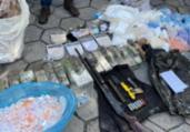 Polícia apreende 100 kg de cocaína em Tancredo Neves   Divulgação   SSP-BA