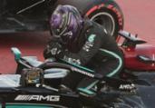 GP da Espanha: Hamilton conquista 100ª pole position | Lluis Gene | AFP