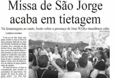 Em 2005 a comoção relacionada ao BBB envolveu um baiano: Jean Wyllys | Cedoc A TARDE