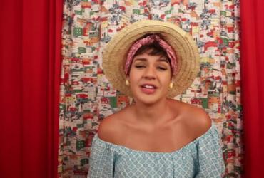 A cantora baiana Ana Barroso lançou semana passada o seu primeiro álbum: Cisco no Olho - Divulgação