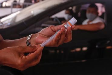 Falta de vacinas para 2ª dose atinge 1.142 municípios nesta semana, mostra levantamento | Olga Leiria | Ag. A TARDE | 3.4.2021