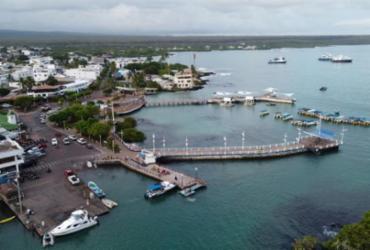 O Arco de Darwin em Galápagos desmorona devido à erosão | AFP