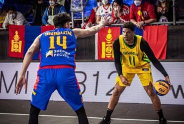 Basquete 3x3: Brasil vence Mongólia e segue em busca da vaga olímpica | Divulgação | Fiba