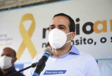Bruno Reis lamenta crise da segunda dose da Coronavac e cobra Ministério da Saúde | Betto Jr./Secom