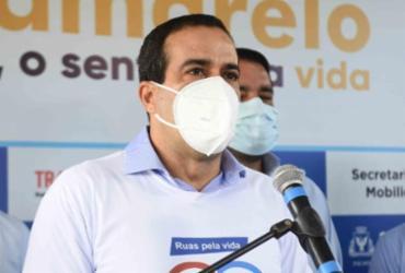 Bruno Reis anuncia prorrogação de medidas restritivas até dia 22 em Salvador   Betto Jr/ Secom