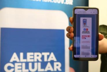 Sistema Alerta Celular chega a 4 mil inscritos em menos de 24 horas | Vitor Barreto | SSP