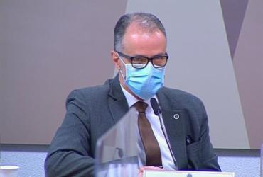 Presidente da Anvisa se opõe a Bolsonaro em CPI ao falar de cloroquina e vacinação | Reprodução