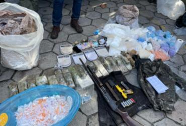 Polícia apreende 100 kg de cocaína em ação contra roubo a bancos em Tancredo Neves | Divulgação | SSP-BA