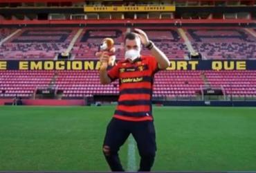 Conselheiro do Sport faz comentário homofóbico sobre Gil após dança na Ilha do Retiro | Reprodução | Rede Globo