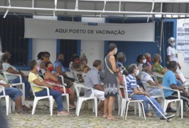 Salvador inicia vacinação contra Covid-19 para novos públicos a partir desta quarta | Shirley Stolze | Ag. A TARDE