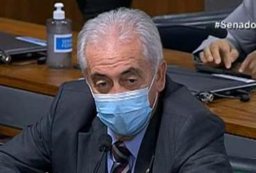 CPI da Covid: Otto solicitica a Pazzuelo que apresente exames para comprovar contaminação de assessores | Reprodução / Senado