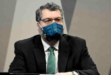 CPI da Covid: Ex-chanceler Ernesto Araújo diz que 'jamais' promoveu atrito com a China | Foto: Jefferson Rudy/Agência Senado