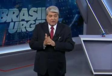 Datena é convidado para se filiar ao PDT e ser vice de Ciro Gomes | Reprodução | TV Bandeirantes