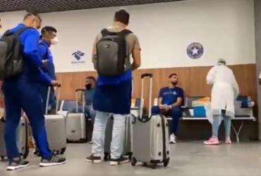 Bahia desembarca em Salvador e terá dúvidas para duelo contra Independiente | Reprodução