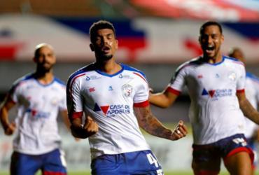 Juninho destaca disputa por posição como positiva para bom momento no Bahia | Felipe Oliveira | EC Bahia