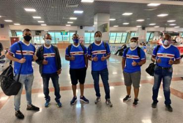 Nordestão: sócio do Bahia realiza sonho de viajar de avião pela primeira vez | Reprodução | Twitter