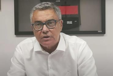 Paulo Carneiro afirma que reforço para lateral-direita chega ao Vitória na segunda-feira | Reprodução | TV Vitória