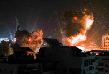 Bombardeios israelenses continuam na Faixa de Gaza após 200 mortos em uma semana | Mahmud Hams | AFP