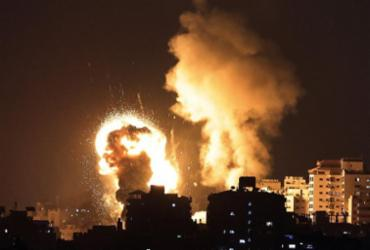 Mais de 100 foguetes são lançados de Gaza na direção de Israel (Hamas) | Mahmud Hams | AFP
