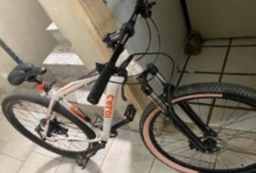 Homem é preso tentando vender bicicleta roubada na Pituba | Divulgação | SSP