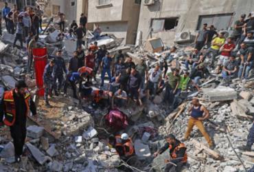 Bombardeios israelenses matam 42 palestinos em Gaza; ONU não faz avanço diplomático | AFP