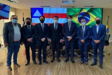 Prefeito de Itanagra tem audiências em Brasília em busca de parcerias para o município