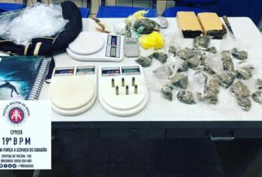 Homem é preso com drogas dentro de mochila em Jequié