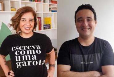 Jornalista e psicoterapeuta realizam live para debater poder terapêutico da escrita | Divulgação