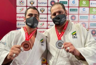 Judô do Brasil fecha Grand Slam de Kazan com 2 pratas e 3 bronzes | Reprodução Twitter | CBJ