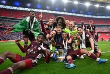 Com torcida, Leicester vence Chelsea e conquista Copa da Inglaterra | Reprodução