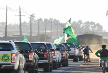 Produtores rurais fazem manifestação em apoio a Bolsonaro no DF | Movimento Brasil Verde e Amarelo/Divulgação